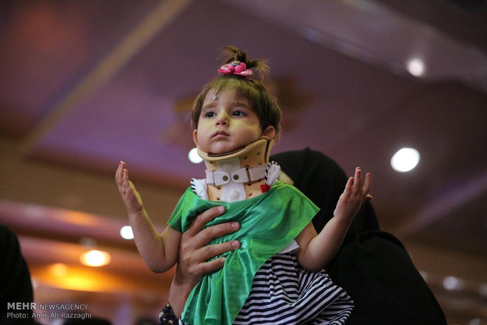 مراسم شیرخوارگان حسینی در استان ها