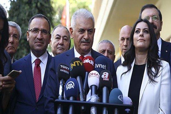 جدیدترین موضع گیری «ایلدریم» درباره همه پرسی اقلیم کردستان عراق