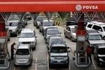 صفهای بنزین در ونزوئلا هرروز طویلتر میشود