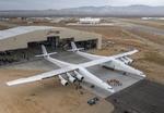 موتورهای بزرگترین هواپیمای جهان روشن شد