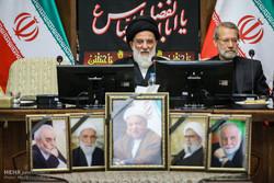 اولین جلسه مجمع تشخیص مصلحت نظام به ریاست هاشمی شاهرودی