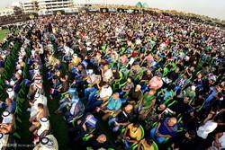 تجمع هواداران جریان حکمت در بغداد