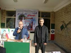 احمد ابراهیمی رئیس بنیاد شهید اهر