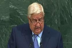 المعلم أمام الجمعية العامة للأمم المتحدة: عازمون على تطهير كل أراضينا