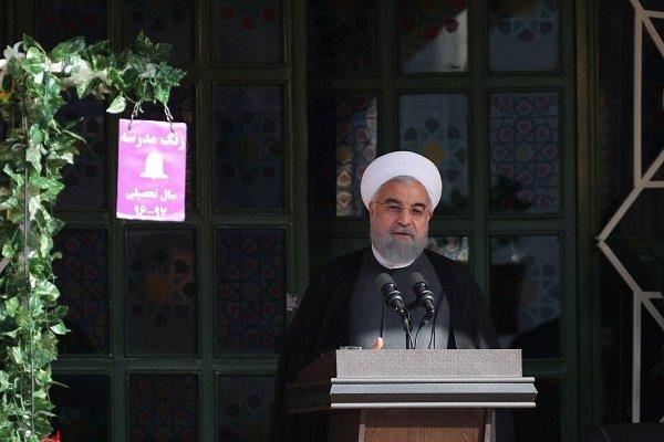 الرئيس روحاني يدعو الى التسامح مع فكر الآخر واحترامه