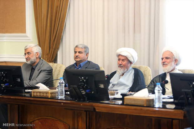 1st session of Expediency Council in new term
