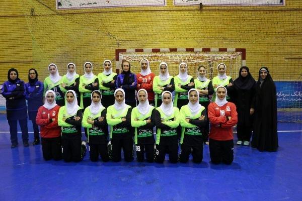 الفريق الايراني لكرة اليد للنساء يصل إلى الأردن