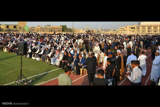 """جماهير تيار """"الحكمة"""" يحتشدون في بغداد"""