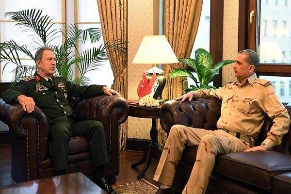 رؤسای ستادکل مشترک ارتش عراق و ترکیه
