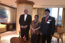 دیدار سه جانبه ایران، هند و عمان