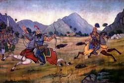 Rostam and Esfandiar