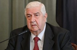 Muallem thanks Iran's aid, says US presence in Syria 'illegitimate'