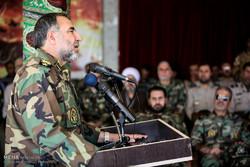 İran Ordusu, düşmana karşı Devrim Muhafızları'na destek veriyor