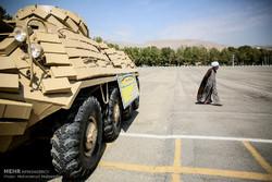 رونمایی از دستاوردهای جدید تجهیزاتی نیروی زمینی ارتش