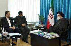دیدار شهردار و رئیس شورای شهر با امامجمعه کرج