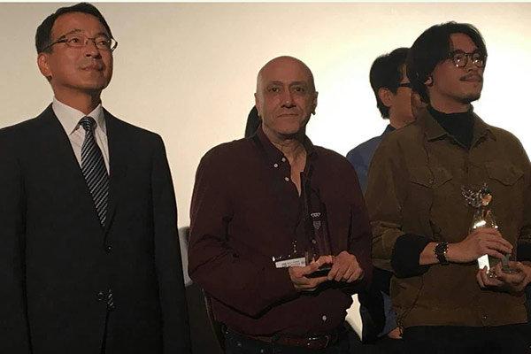 'Violinist' wins Audience Award at Japan's filmfest.