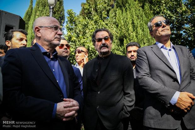 مراسم تشییع پیکر زنده یاد نادر گلچین
