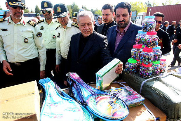 کشفیات کالای قاچاق و مواد مخدر در اصفهان