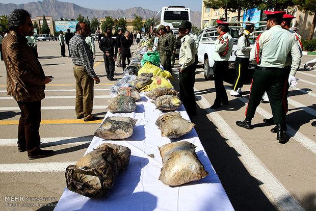 کشف 20 کیلو گرم تریاک در زنجان