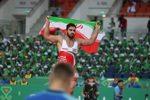 Iranian wrestlers win 4 medals at AIMAG