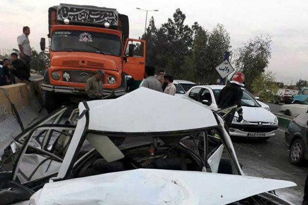 تصادف در نسیم شهر