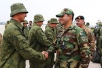 روسی فوج کا دستہ پاکستان پہنچ گیا