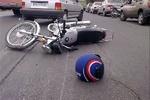 تخطی از سرعت مطمئنه راکب موتورسیکلت حادثه آفرید