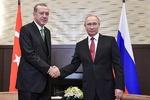 پوتین و اردوغان درباره عملیات عفرین گفتگو کردند