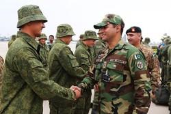 رزمایش مشترک پاکستان و روسیه
