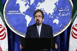 Ghasemi calls US as root of crisis in Syria