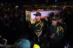 Şehit Hoceci'nin cenazesi İran'a getirildi