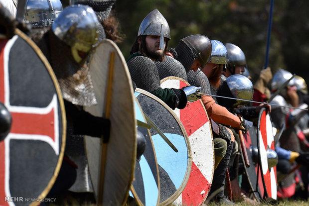 محاكاة حروب القرون الوسطى في العاصمة الأسترالية