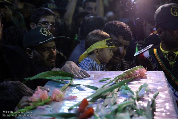 Tehran receives Mohsen Hajji's body