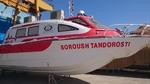 آمبولانس دریایی به شبکه بهداشت و درمان قشم تحویل شد