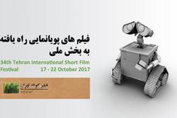 آثار پویانمایی راهیافته به بخش ملی جشنواره فیلم کوتاه تهران