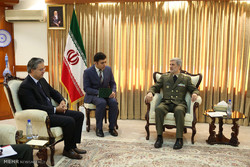 MoD receives Turkish amb. to Tehran