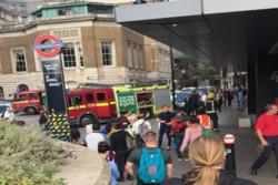 انفجار لندن