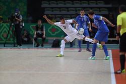 دیدار تیم ملی فوتسال ایران و ازبکستان