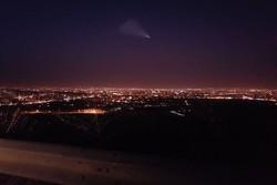 روئیت شی نورانی در آسمان استان ایلام