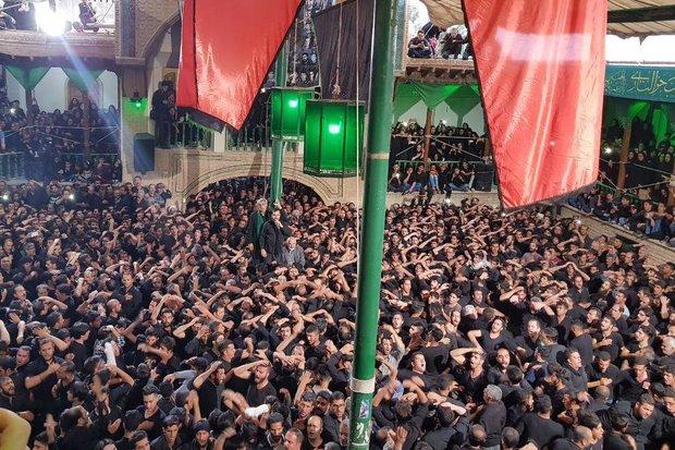 عزارداری سنتی یا عباس در شاهرود  - کراپشده