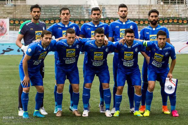دیدار تیم های سپیدرود رشت و استقلال تهران