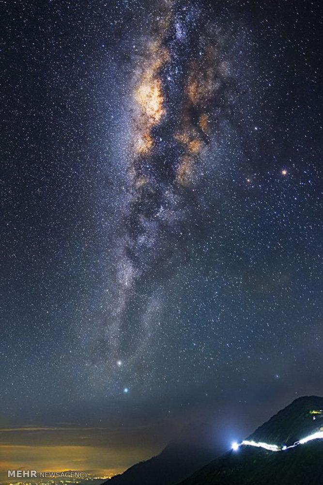 عکس کهکشان ها زیبا