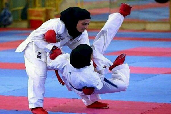 آغاز اردوی بانوان کاراته کا - صمدی مربی تیم امید دختران شد