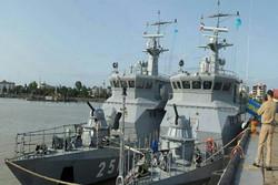 مجموعة قوة بحرية تابعة للجيش تغادر كازاخستان متوجهة إلى إيران