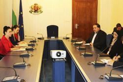 دیدار بروجردی با مقامات بلغارستان