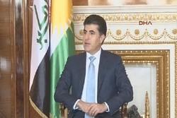 رئيس حكومة كردستان العراق يزور طهران غدا الاحد