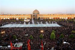 تشييع جثمان الشهيد حججي في أصفهان /صور