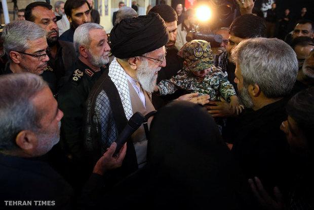 Ayatollah Khamenei pays tribute to Martyr Mohsen Hojaji