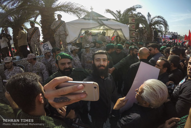 Hojaji's funeral procession held in Tehran