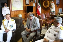 Kazakh fleet visits Iran's port in Caspian Sea